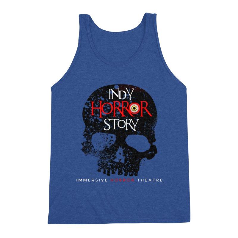Indy Horror Story Skull Logo Men's Tank by indyhorrorstory's Artist Shop