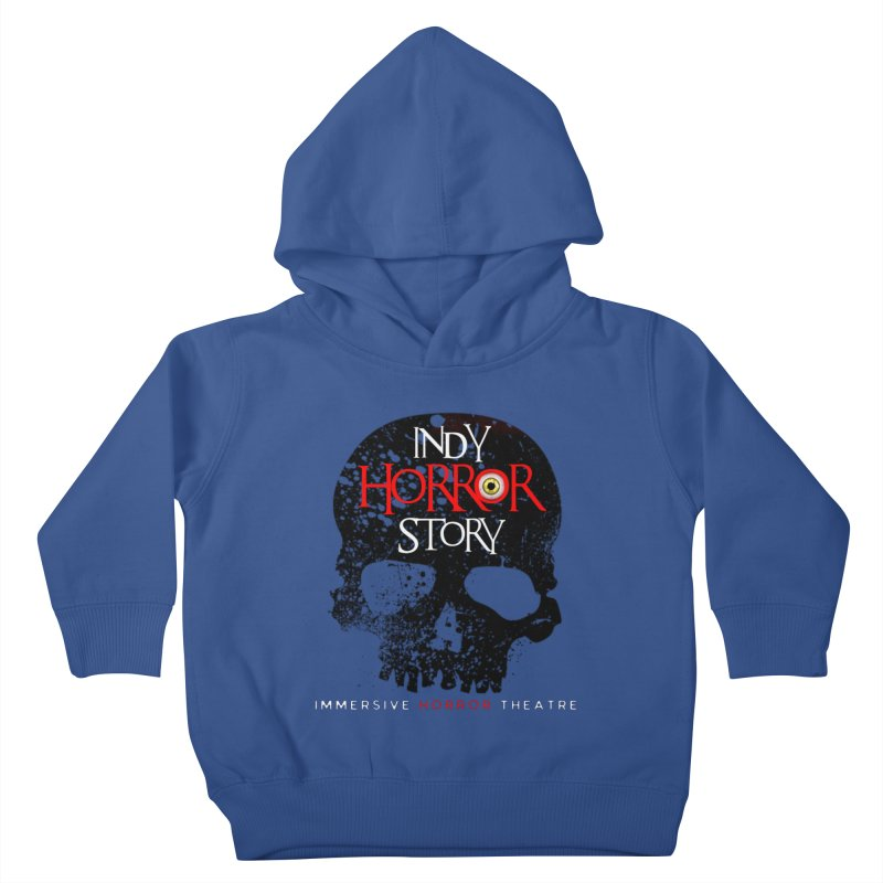 Indy Horror Story Skull Logo Kids Toddler Pullover Hoody by indyhorrorstory's Artist Shop