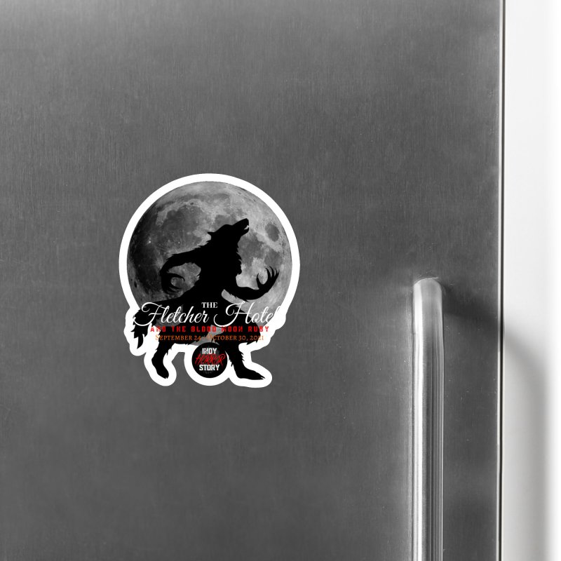 The Fletcher Hotel Accessories Magnet by indyhorrorstory's Artist Shop