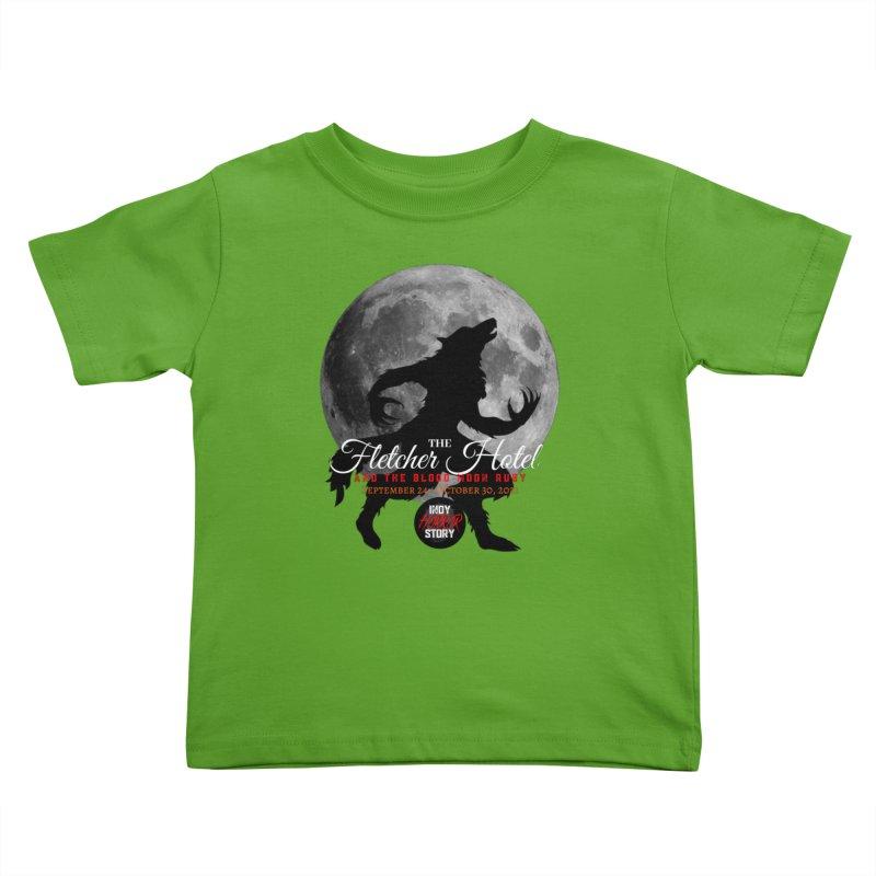 The Fletcher Hotel Kids Toddler T-Shirt by indyhorrorstory's Artist Shop