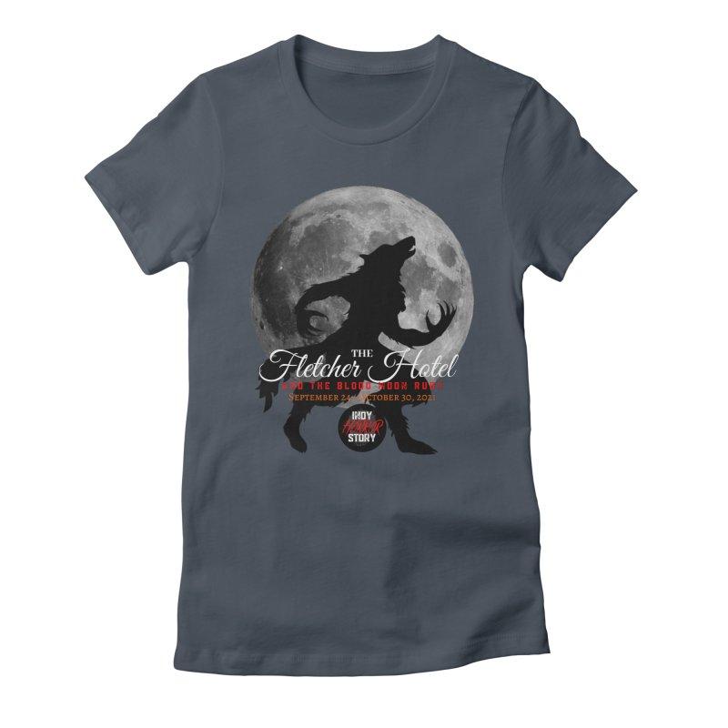 The Fletcher Hotel Women's T-Shirt by indyhorrorstory's Artist Shop