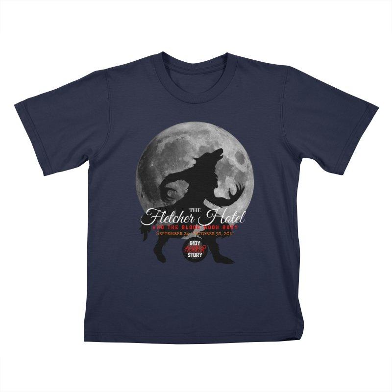 The Fletcher Hotel Kids T-Shirt by indyhorrorstory's Artist Shop