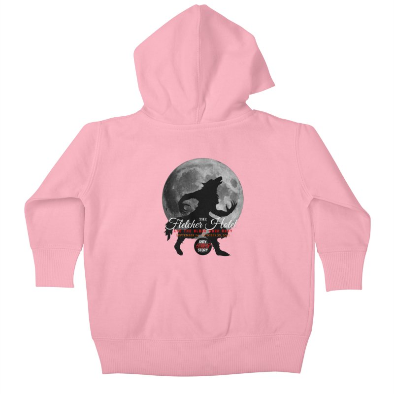 The Fletcher Hotel Kids Baby Zip-Up Hoody by indyhorrorstory's Artist Shop