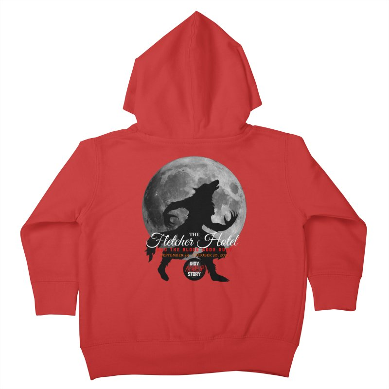 The Fletcher Hotel Kids Toddler Zip-Up Hoody by indyhorrorstory's Artist Shop