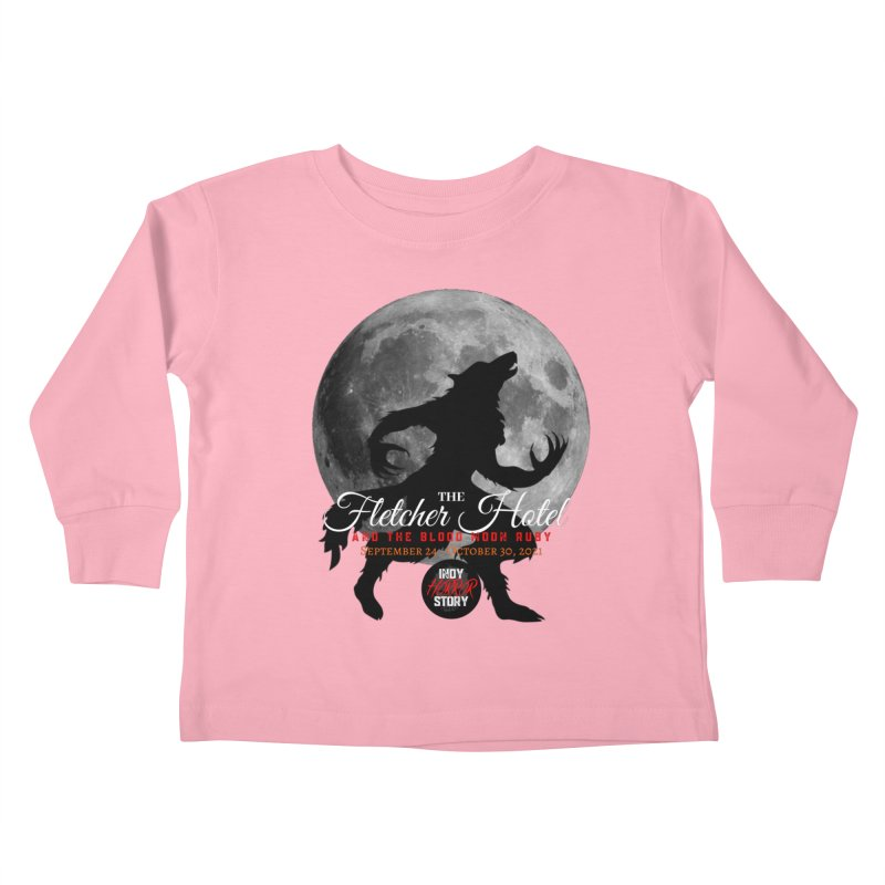 The Fletcher Hotel Kids Toddler Longsleeve T-Shirt by indyhorrorstory's Artist Shop