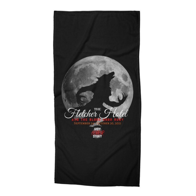 The Fletcher Hotel Accessories Beach Towel by indyhorrorstory's Artist Shop