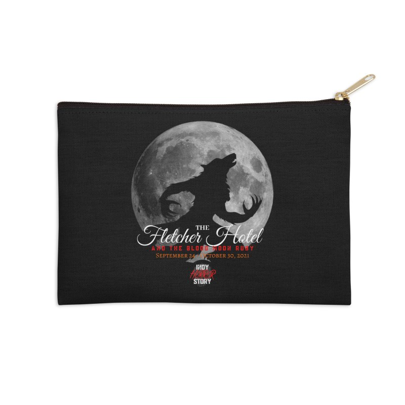 The Fletcher Hotel Accessories Zip Pouch by indyhorrorstory's Artist Shop