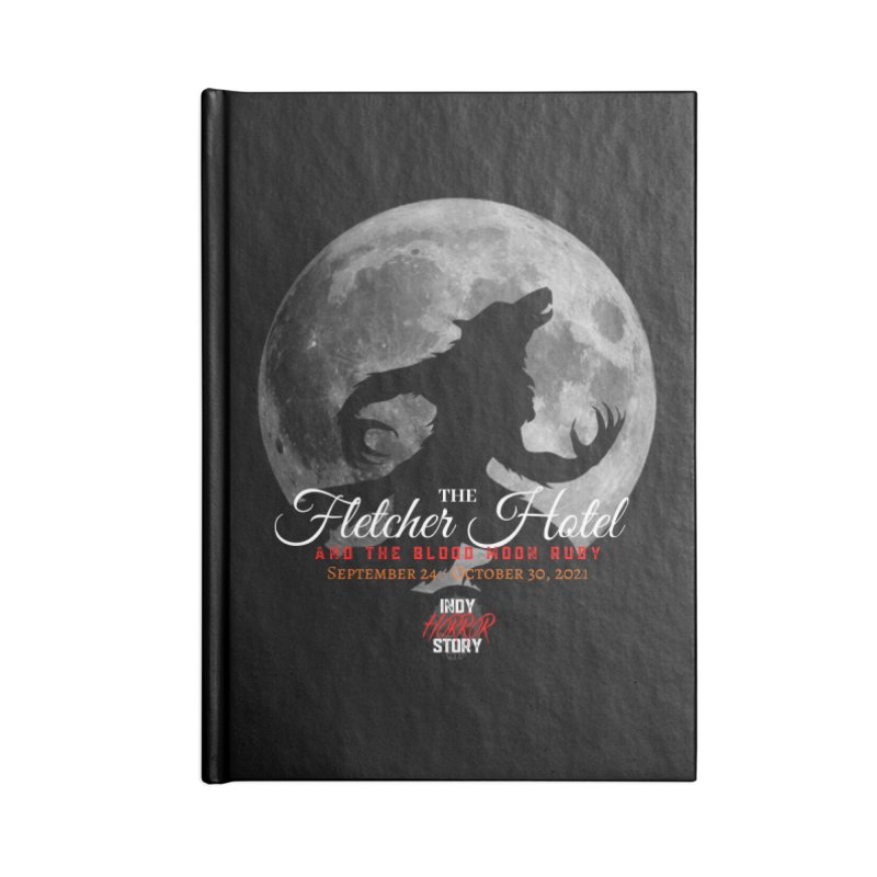 The Fletcher Hotel Accessories Notebook by indyhorrorstory's Artist Shop