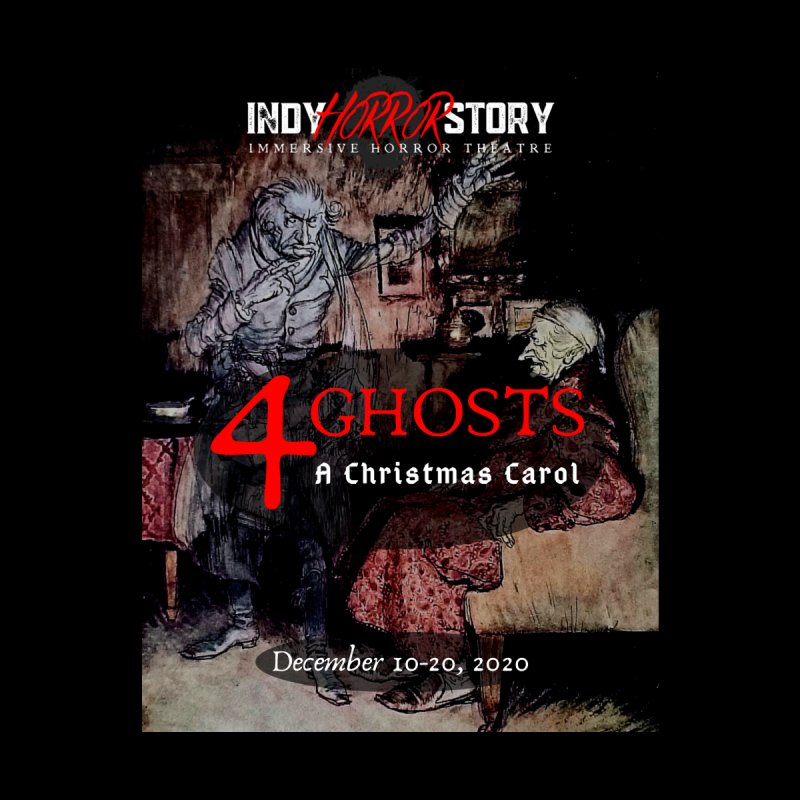 4 Ghosts - A Christmas Carol Men's T-Shirt by indyhorrorstory's Artist Shop