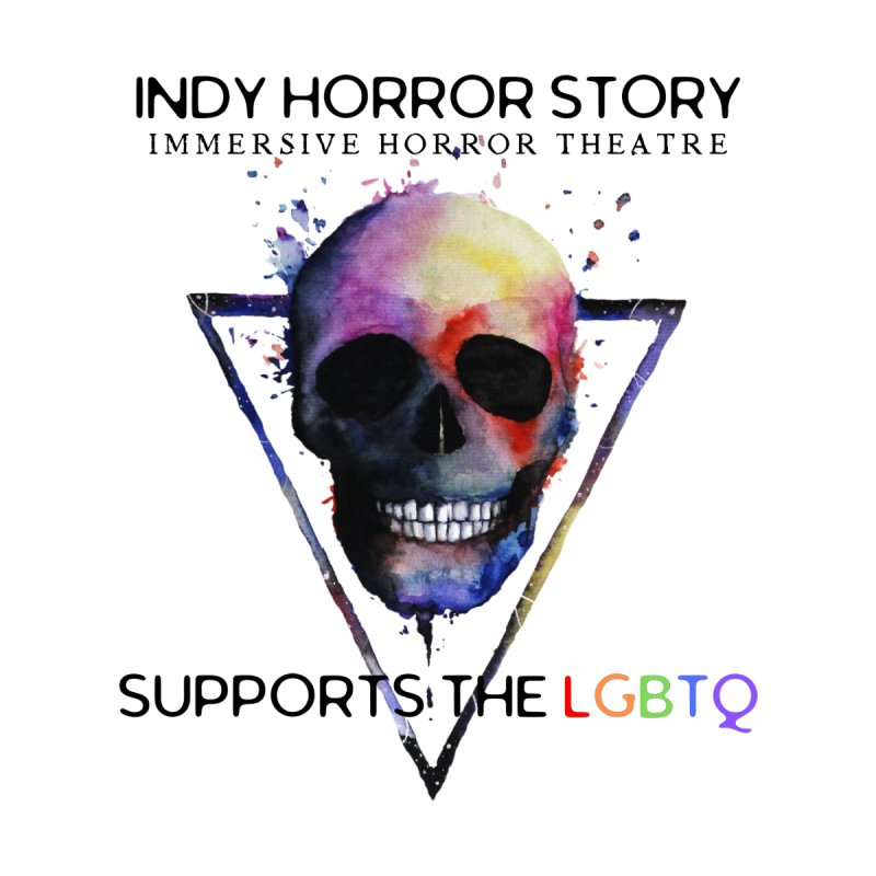 Indy Horror Story Pride Accessories Face Mask by indyhorrorstory's Artist Shop