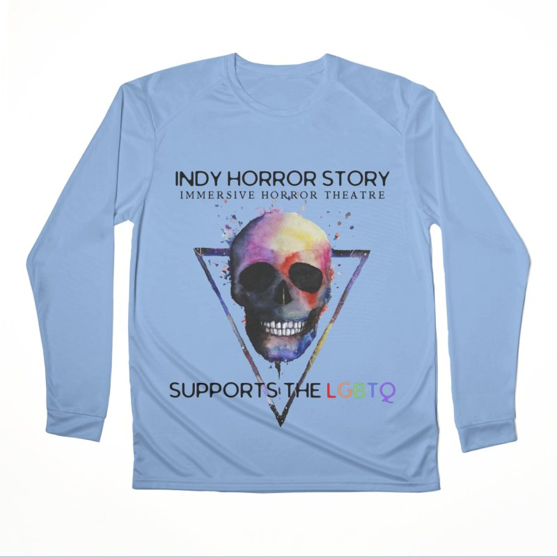 Indy Horror Story Pride Men's Longsleeve T-Shirt by indyhorrorstory's Artist Shop