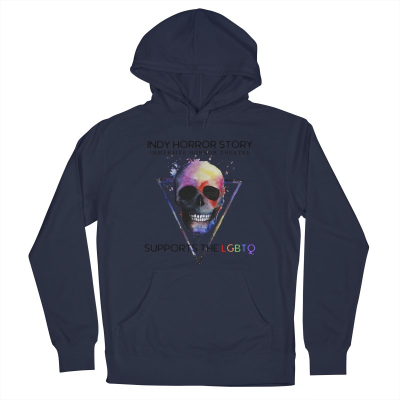 Indy Horror Story Pride Men's Pullover Hoody by indyhorrorstory's Artist Shop