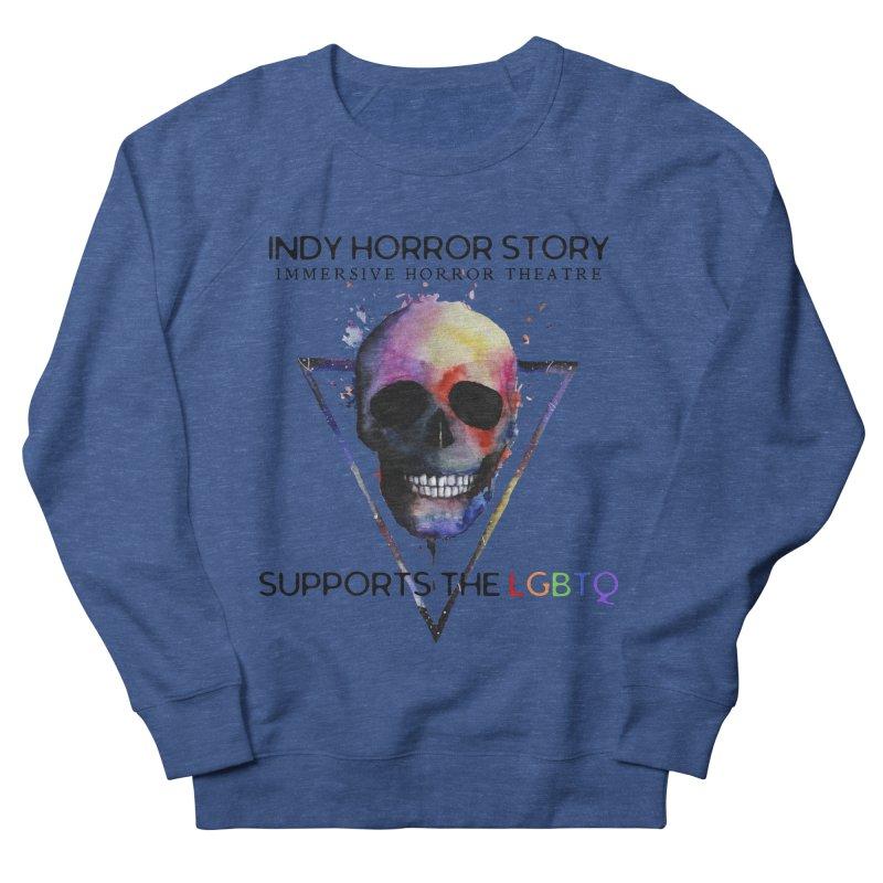 Indy Horror Story Pride Men's Sweatshirt by indyhorrorstory's Artist Shop