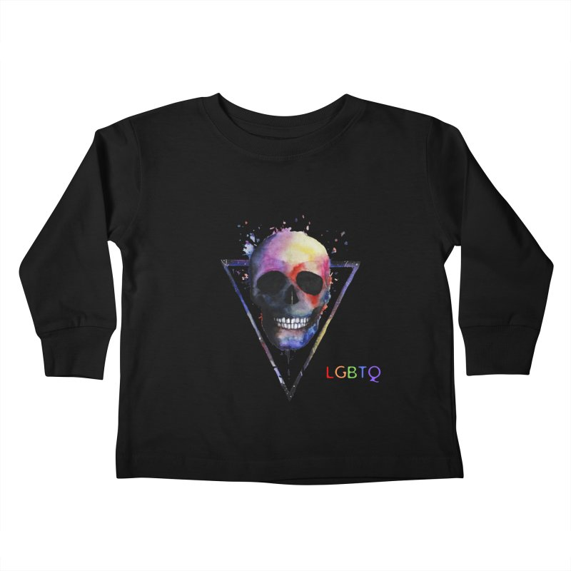 Indy Horror Story Pride Kids Toddler Longsleeve T-Shirt by indyhorrorstory's Artist Shop