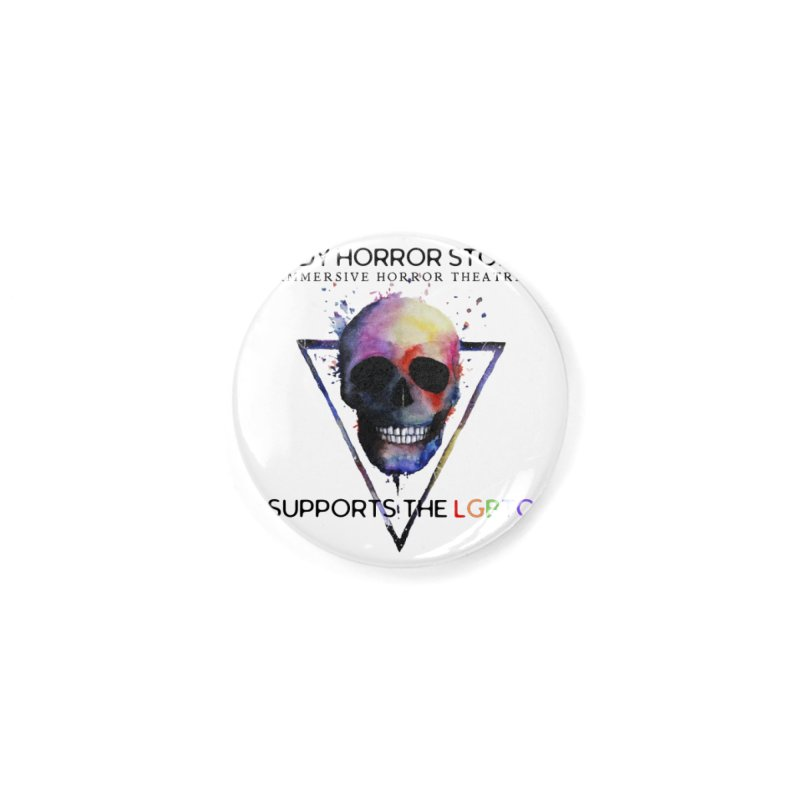 Indy Horror Story Pride Accessories Button by indyhorrorstory's Artist Shop