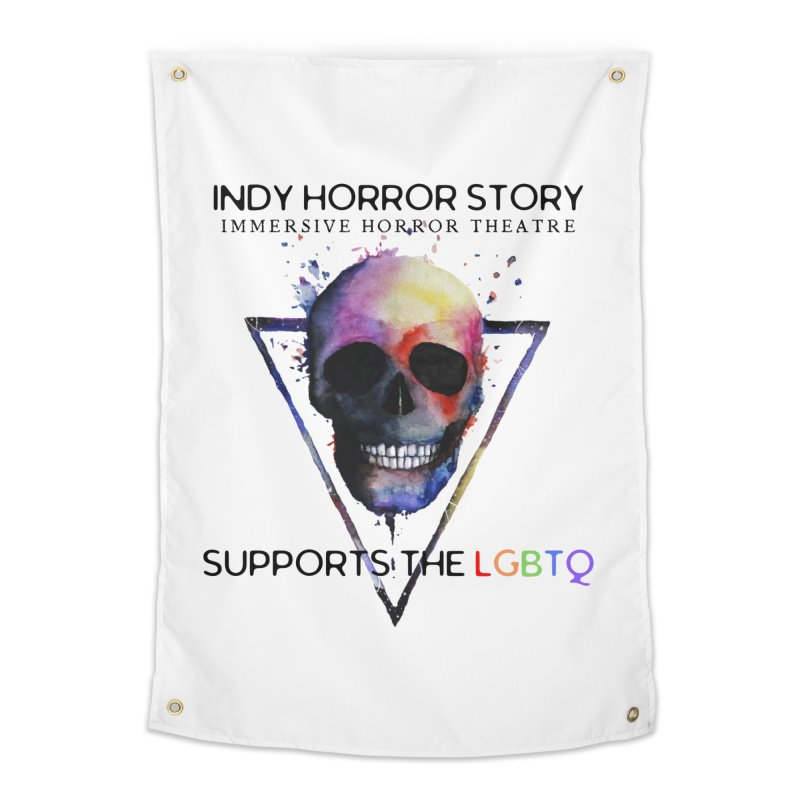 Indy Horror Story Pride Home Tapestry by indyhorrorstory's Artist Shop