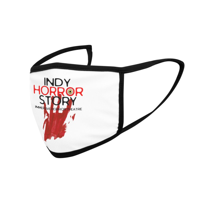 Indy Horror Story Bloody Hand Accessories Face Mask by indyhorrorstory's Artist Shop