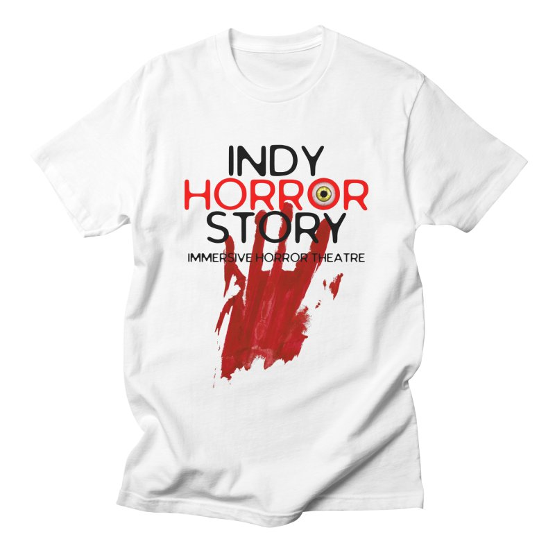 Indy Horror Story Bloody Hand Men's T-Shirt by indyhorrorstory's Artist Shop