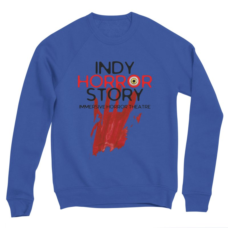 Indy Horror Story Bloody Hand Men's Sweatshirt by indyhorrorstory's Artist Shop