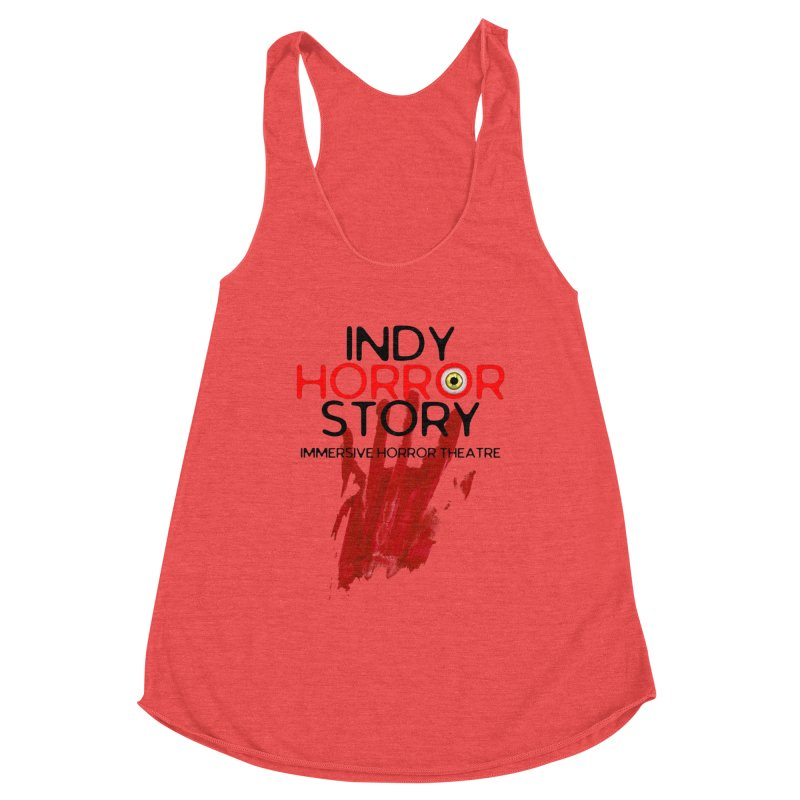 Indy Horror Story Bloody Hand Women's Tank by indyhorrorstory's Artist Shop
