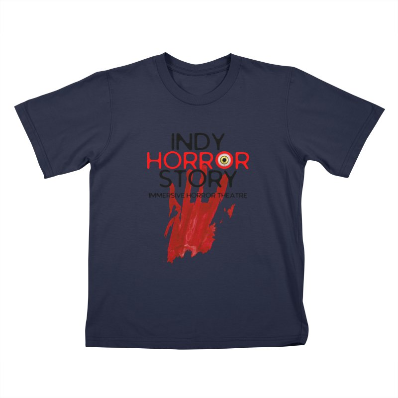 Indy Horror Story Bloody Hand Kids T-Shirt by indyhorrorstory's Artist Shop