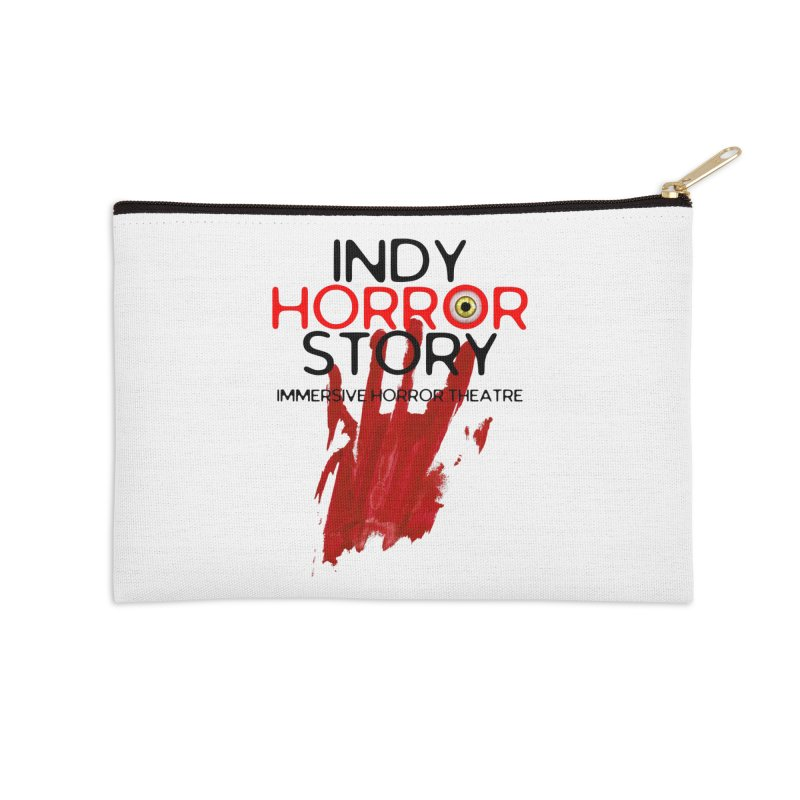 Indy Horror Story Bloody Hand Accessories Zip Pouch by indyhorrorstory's Artist Shop