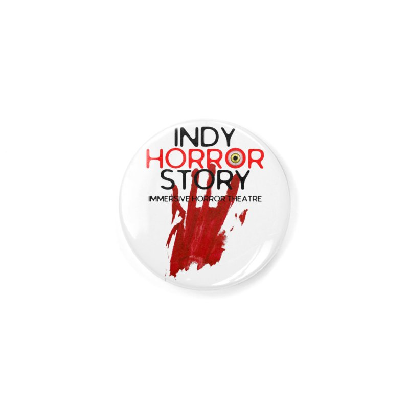 Indy Horror Story Bloody Hand Accessories Button by indyhorrorstory's Artist Shop