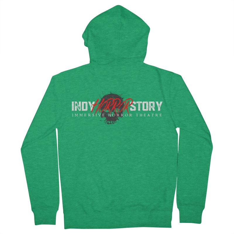 INDY HORROR STORY 2021 Women's Zip-Up Hoody by indyhorrorstory's Artist Shop