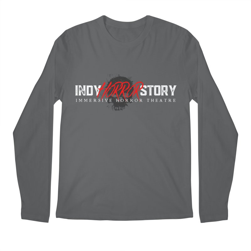INDY HORROR STORY 2021 Men's Longsleeve T-Shirt by indyhorrorstory's Artist Shop