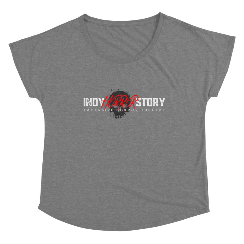 INDY HORROR STORY 2020 Women's Scoop Neck by indyhorrorstory's Artist Shop