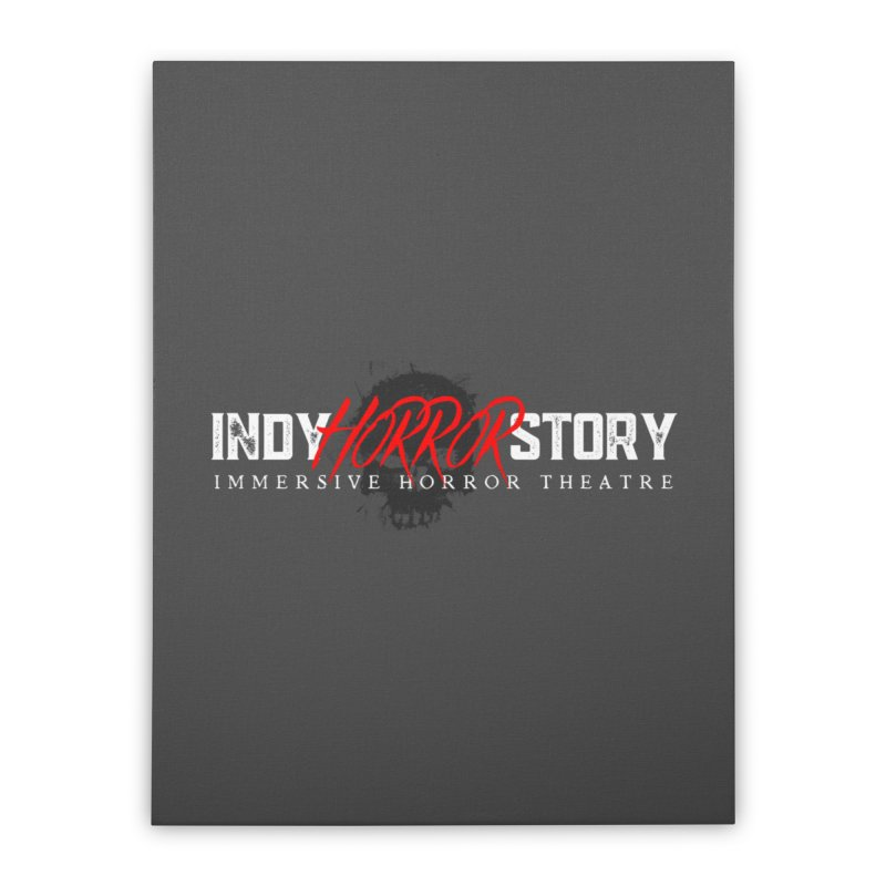 INDY HORROR STORY 2021 Home Stretched Canvas by indyhorrorstory's Artist Shop