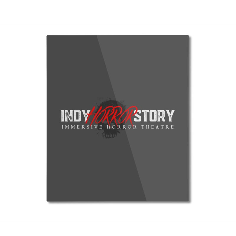 INDY HORROR STORY 2021 Home Mounted Aluminum Print by indyhorrorstory's Artist Shop