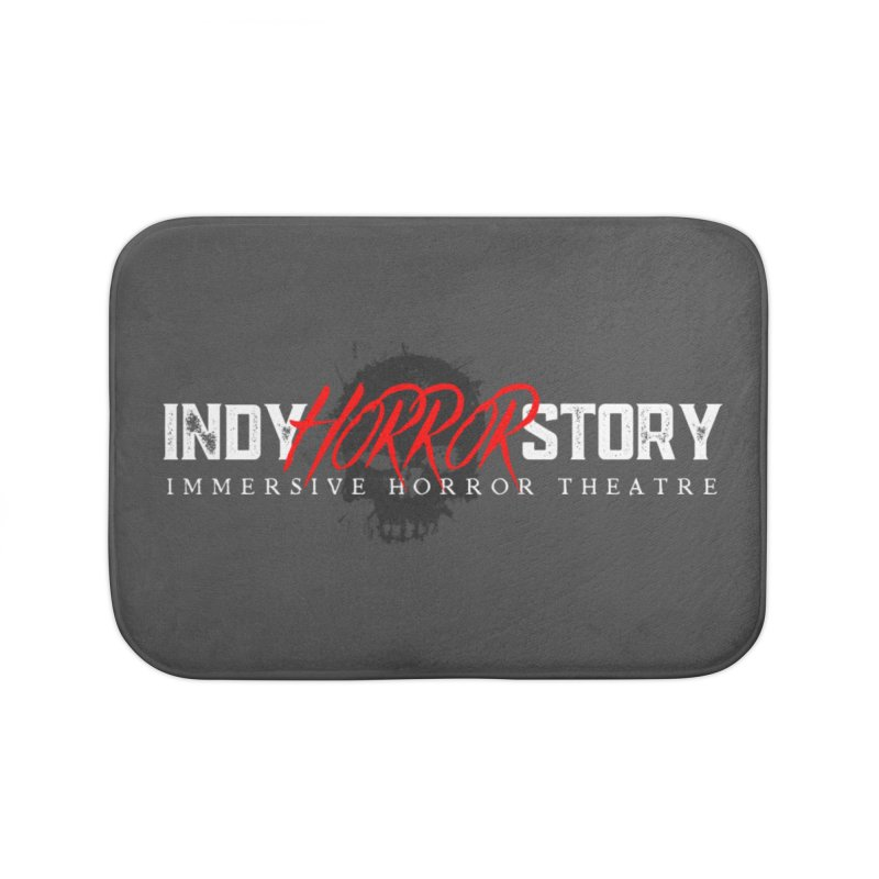 INDY HORROR STORY 2021 Home Bath Mat by indyhorrorstory's Artist Shop
