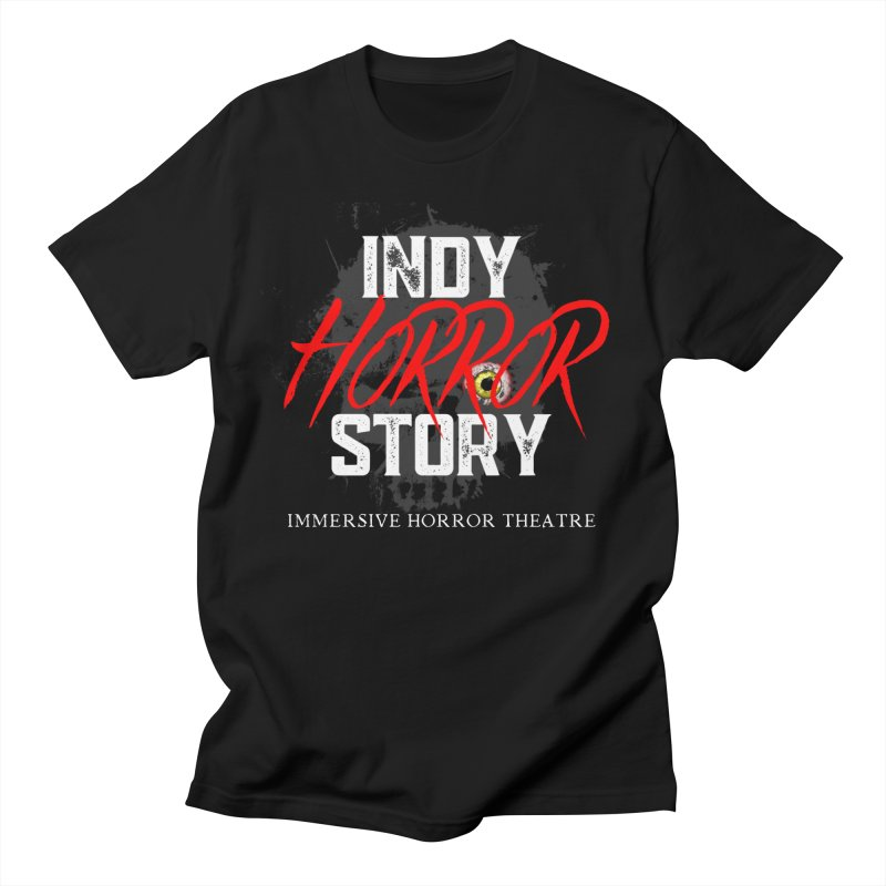 IHS Logo 2021 Men's T-Shirt by indyhorrorstory's Artist Shop