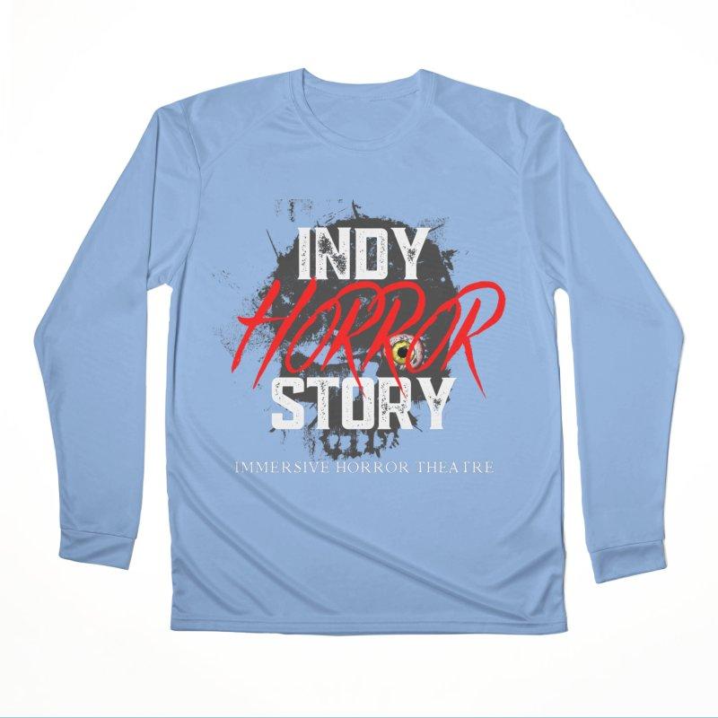 IHS Logo 2021 Men's Longsleeve T-Shirt by indyhorrorstory's Artist Shop