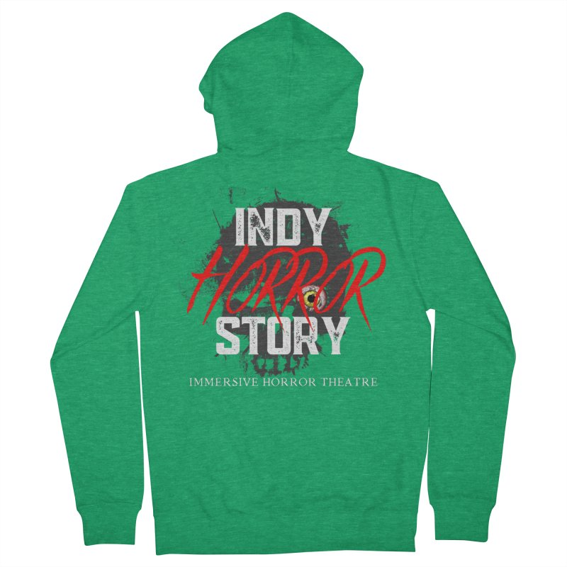 IHS Logo 2021 Women's Zip-Up Hoody by indyhorrorstory's Artist Shop