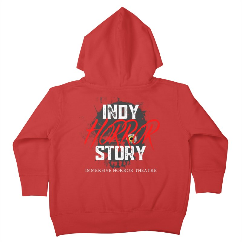 IHS Logo 2021 Kids Toddler Zip-Up Hoody by indyhorrorstory's Artist Shop