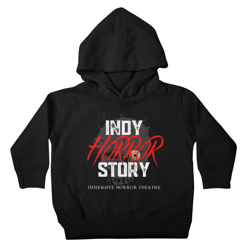 IHS Logo 2021 Kids Toddler Pullover Hoody by indyhorrorstory's Artist Shop
