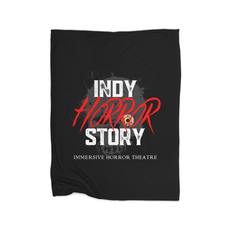IHS Logo 2021 Home Blanket by indyhorrorstory's Artist Shop