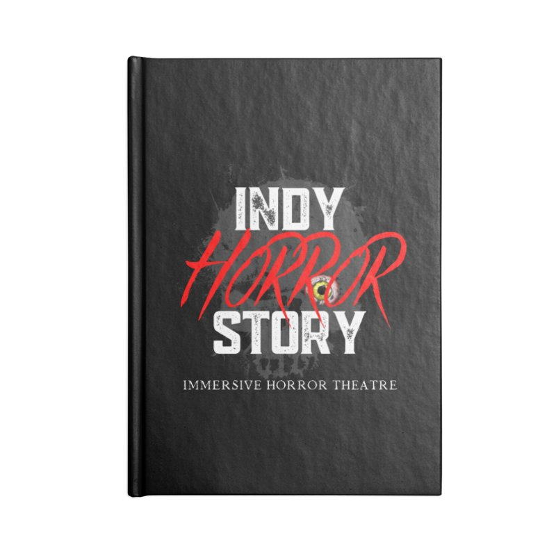 IHS Logo 2021 Accessories Notebook by indyhorrorstory's Artist Shop