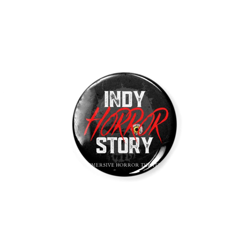IHS 2020 Accessories Button by indyhorrorstory's Artist Shop