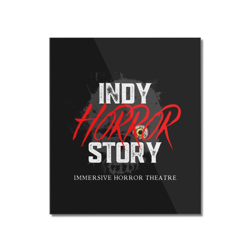 IHS Logo 2021 Home Mounted Acrylic Print by indyhorrorstory's Artist Shop