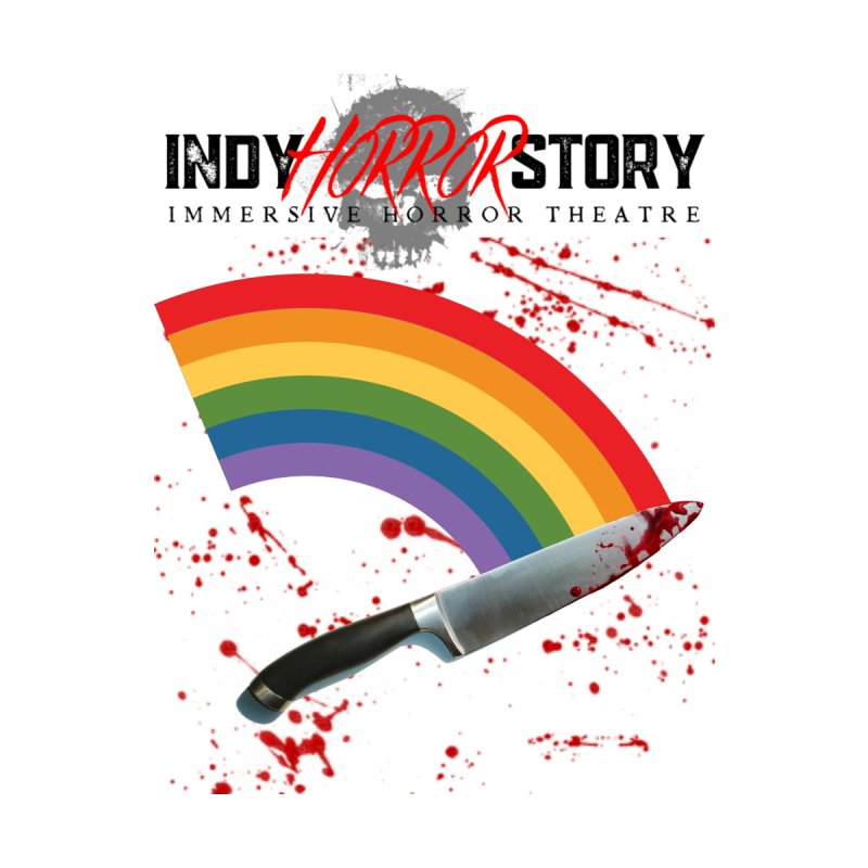 IHS Pride Rainbow Kids T-Shirt by indyhorrorstory's Artist Shop
