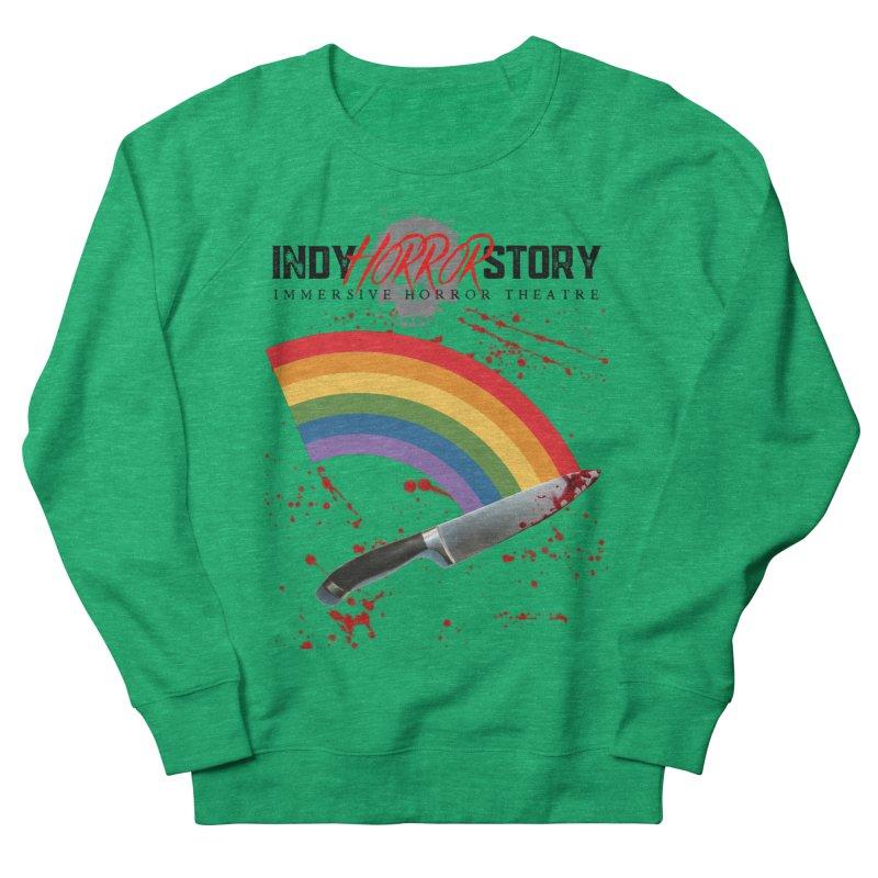 IHS Pride Rainbow Women's Sweatshirt by indyhorrorstory's Artist Shop