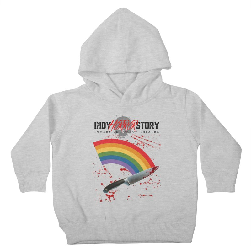 IHS Pride Rainbow Kids Toddler Pullover Hoody by indyhorrorstory's Artist Shop