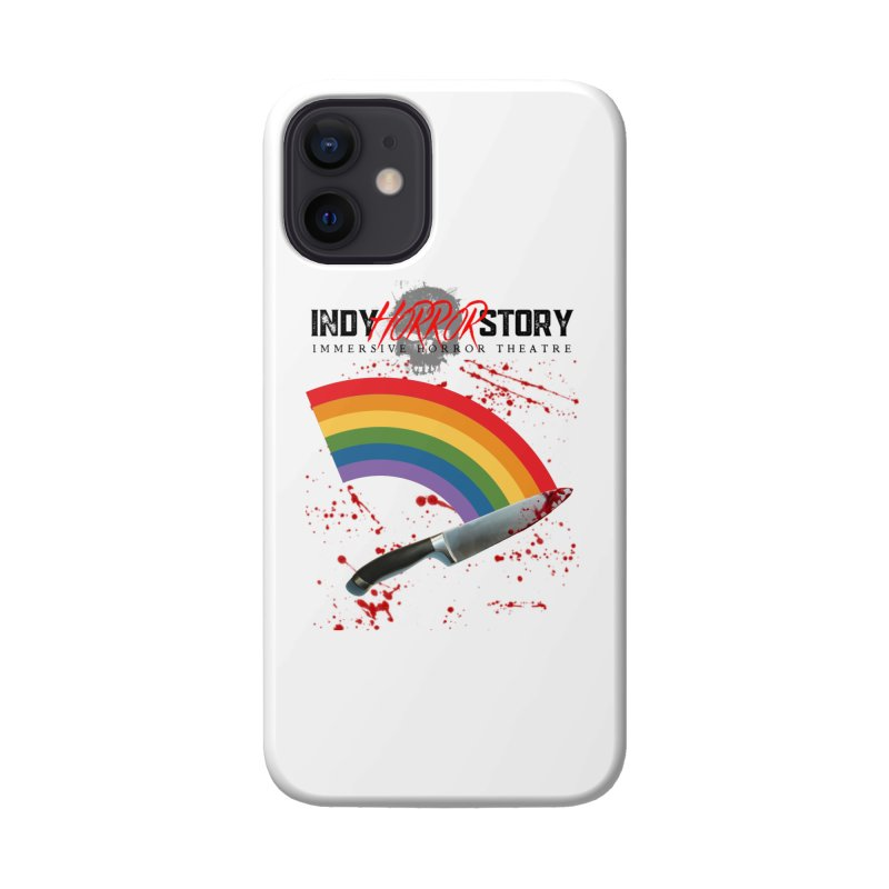 IHS Pride Rainbow Accessories Phone Case by indyhorrorstory's Artist Shop