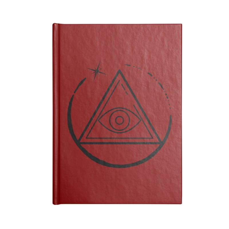"""""""The Society"""" Accessories Notebook by indyhorrorstory's Artist Shop"""