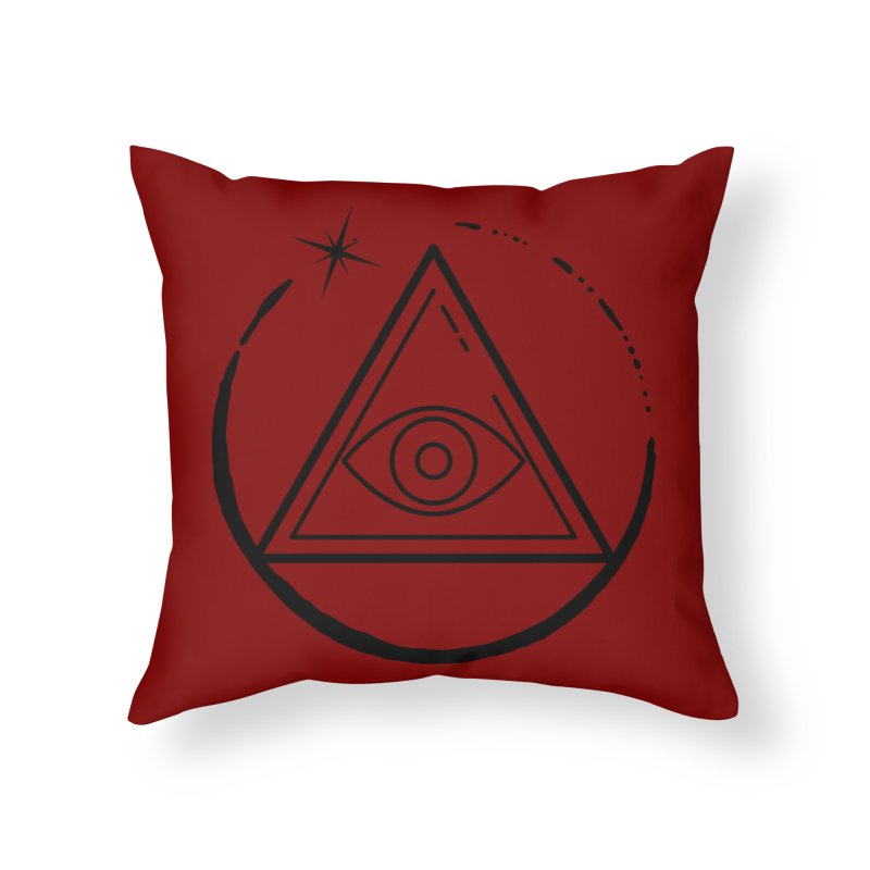 """""""The Society"""" Home Throw Pillow by indyhorrorstory's Artist Shop"""