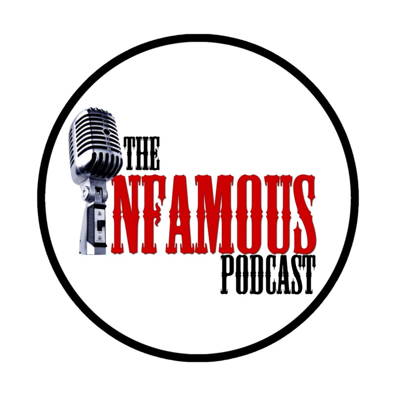 Infamous Podcast Logo Men's V-Neck by The Infamous Podcast's Artist Shop