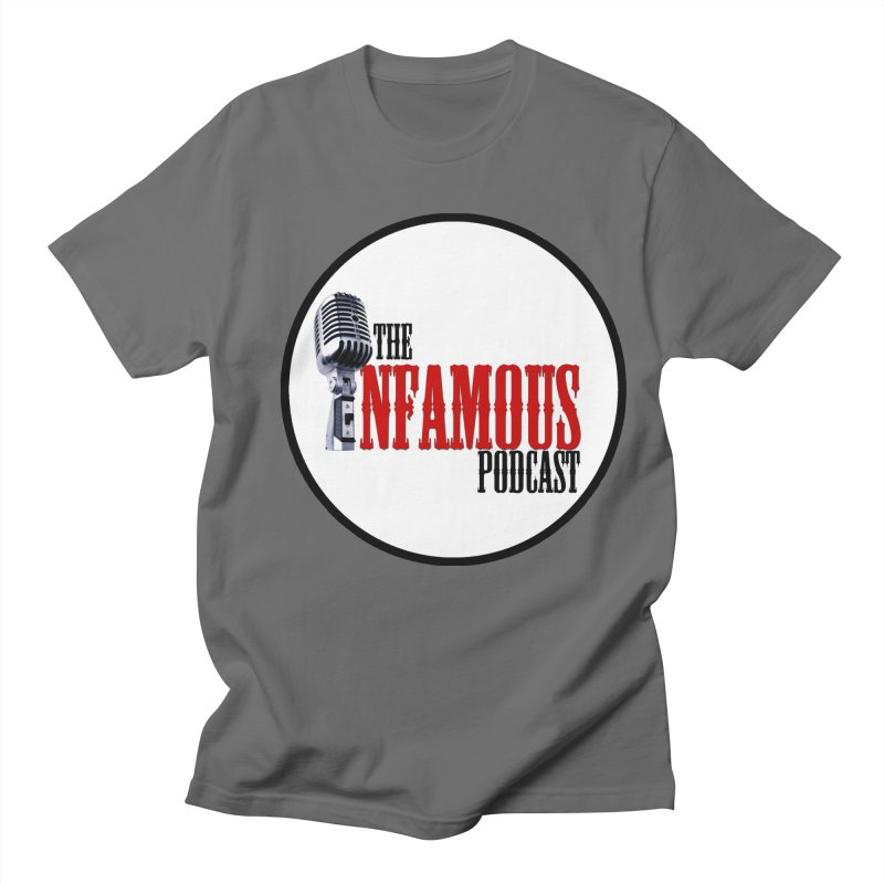 Infamous Podcast Logo Men's T-Shirt by The Infamous Podcast's Artist Shop
